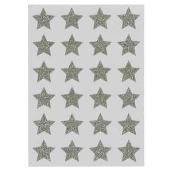 Vianočné samolepky Silver Star