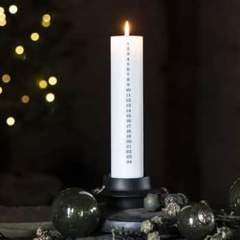Adventní svíčka Christmas White/Anthracite Grey