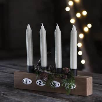 Adventní svícen Wood 4 Candles