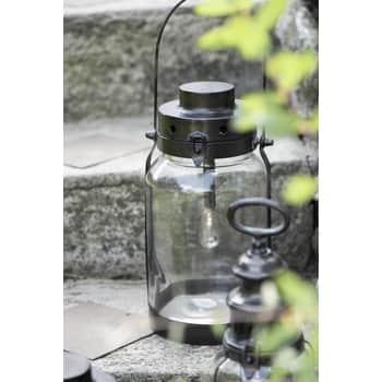 Kovový lampáš Lantern Black 32 cm