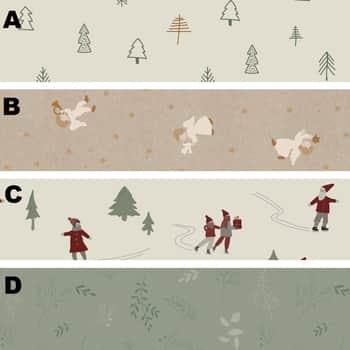 Balicí papír Christmas - 5m
