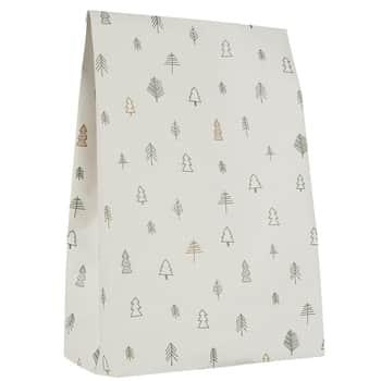 Papírový sáček Christmas Forest - L