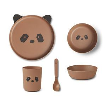 Sada dětského nádobí Panda Tuscany Rose