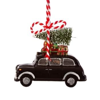 Vánoční ozdoba London Christmas Black Cab
