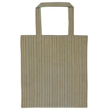 Bavlněná taška Autumn Green Stripes