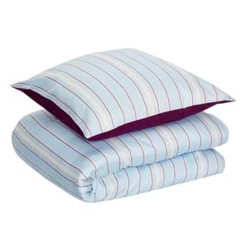 Bavlnené obliečky Blue/Stripes 140x200cm