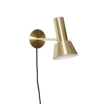 Nástěnná lampa Metal/Gold