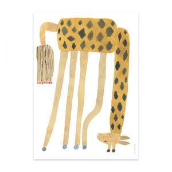 Plagát Noah Giraffe Upside Down 50x70cm