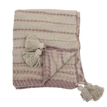 Bavlnený prehoz Rose Recycled Cotton 160×130 cm
