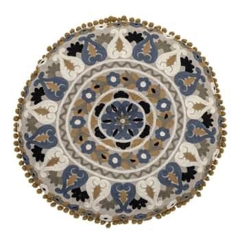 Bavlněný polštář Cushion Blue Cotton 40 cm