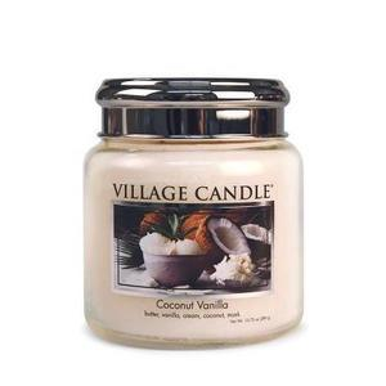 Svíčka Village Candle - Coconut Vanilla 389g