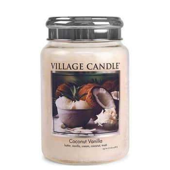 Svíčka Village Candle - Coconut Vanilla 602g