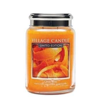 Svíčka Village Candle - Citrus Twist 602g