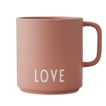Porcelánový hrnček suškom Love 300ml