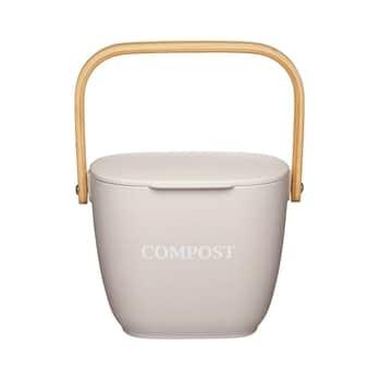 Bambusový kyblík na kompost Natural