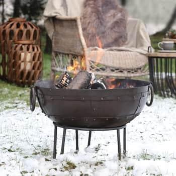 Kovové záhradné ohnisko Grimaud