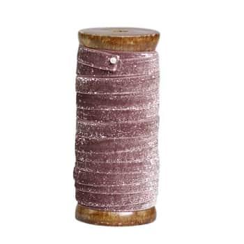 Stuha se špulkou Powder Glitter - 5m