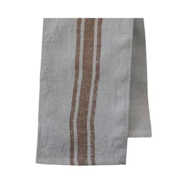 Lněná utěrka Barchant Stripe Nature 70×50 cm