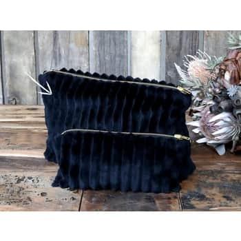 Kosmetická taštička Black Velour