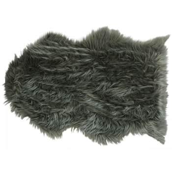 Umělá kožešina Moss 90×60 cm