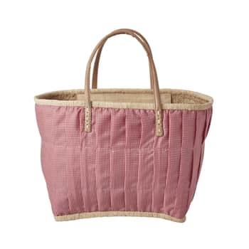 Nákupná taška zrafie Red Medium