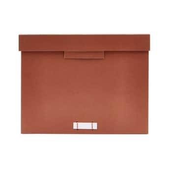 Úložný box na dokumenty Cognac