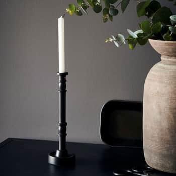 Kovový svícen Jersey Black