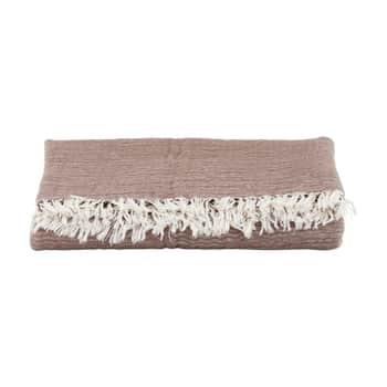 Bavlněný pléd Alice Brown 200×140 cm