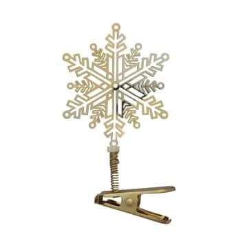 Vánoční ozdoba na klipsu Snowflake