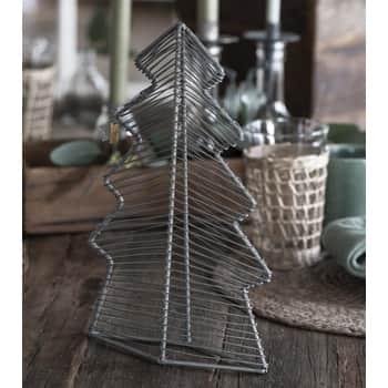 Dekorativní stromek Metal 30cm