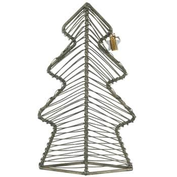 Dekorativní stromeček Metal 22,5cm