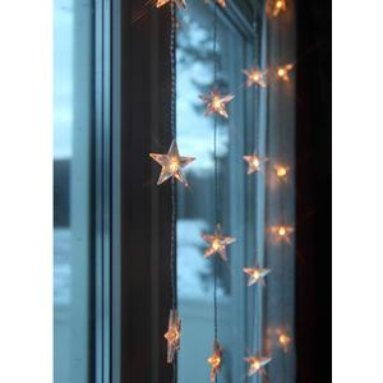 Svetelná reťaz shviezdičkami Star Curtain 90 × 200 cm