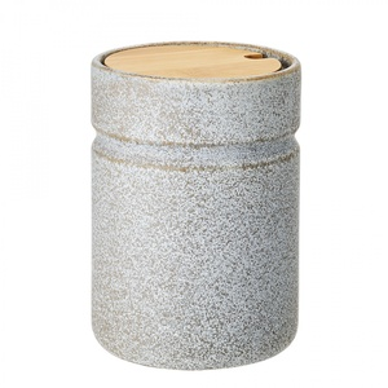 Kameninová dóza sviečkom Kendra 16cm