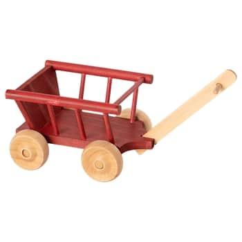 Dřevěný vozík pro zvířátka Maileg Dusty Red