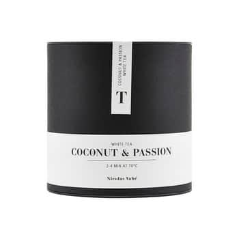 Zmes bieleho azeleného čaju Coconut and Passion 100g
