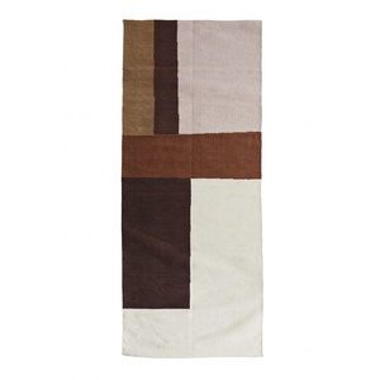 Bavlněný koberec Cognac 70×200 cm