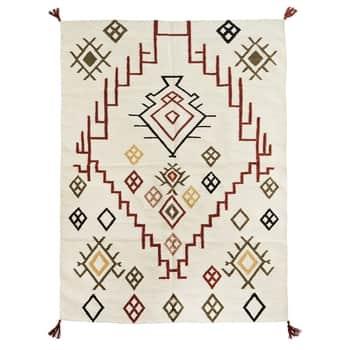 Bavlněný koberec Off White Cotton