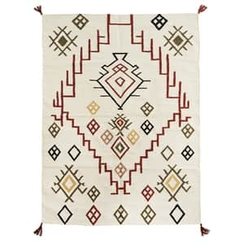 Bavlnený koberec Off White Cotton