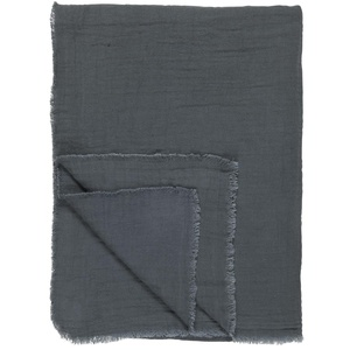 Bavlněný pléd Historical Blue 130×170 cm