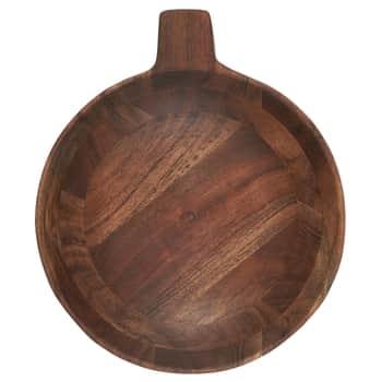 Drevená servírovacia miska Oiled Acacia Oiled Acacia - väčšia
