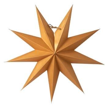 Závěsná svítící hvězda Boris Gold 50cm