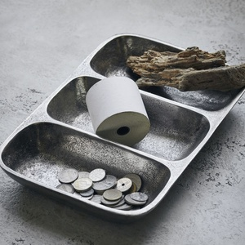 Kovová miska Antique Metallic
