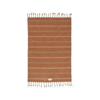 Bavlnený uterák Kyoto Dark Caramel 100x67cm