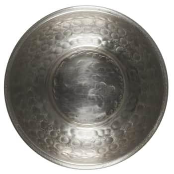 Kovová mištička Hammered Pattern Antique Silver