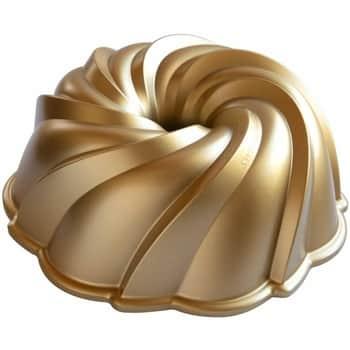 Hliníková forma na bábovku Swirl Gold