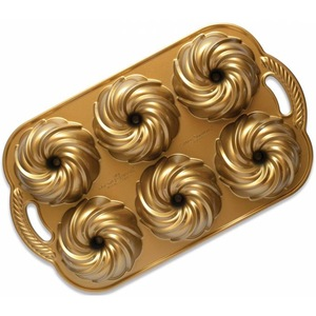 Hliníková forma Anniversary Swirl Gold