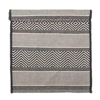 Bavlnený koberec Black and White 80×180 cm