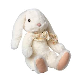 Plyšový zajačik Fluffy White - large