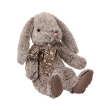 Plyšový zajačik Fluffy Grey - large