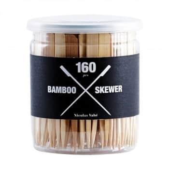 Bambusové jehly Skewer 160 ks